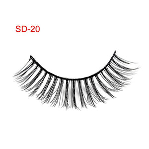 3 Pairs Natural False Eyelashes