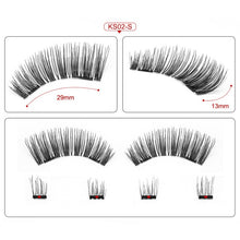 Load image into Gallery viewer, Makeup Tool Box Acrylic Magnet Lashes