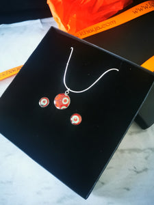 Kayla Set 2 (earrings and necklace)