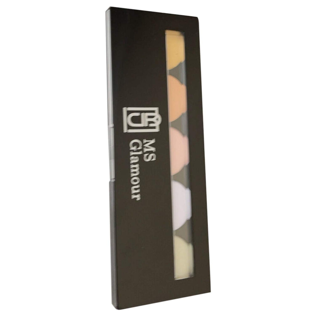 5 Color Total Color Corrector Palette Travel Friendly Highly Pigmented Long Lasting Waterproof