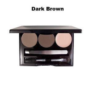 Image of MS Glamour Dark Brown Brow Kit Palette