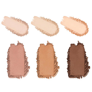 Image of MS Glamour Highlight and Contour Palette Color Options