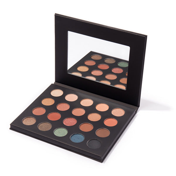 Image of MS Glamour Sunset Palette Mirror and Case