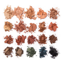 Image of MS Glamour Sunset Palette Colors