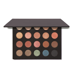 Image of MS Glamour Sunset Palette Eyeshadow Wells