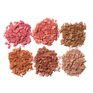 Image of MS Glamour Cheek Palette Color Options