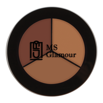 Image of MS Glamour Concealer Trio Case