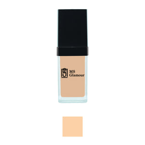 Image of MS Glamour's F-C2 Warm Yellow Face Foundation