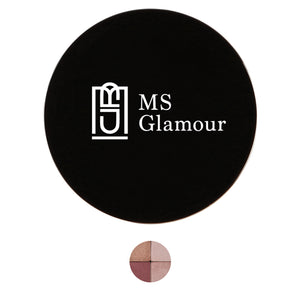 Image of MS Glamour 2 Peek A Boo Quattros Blusher Shadows