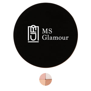 Image of MS Glamour 3 Warm Breeze Quattros Blusher Shadows