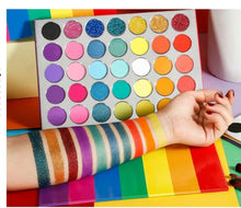 35 Colors Rainbow Palette