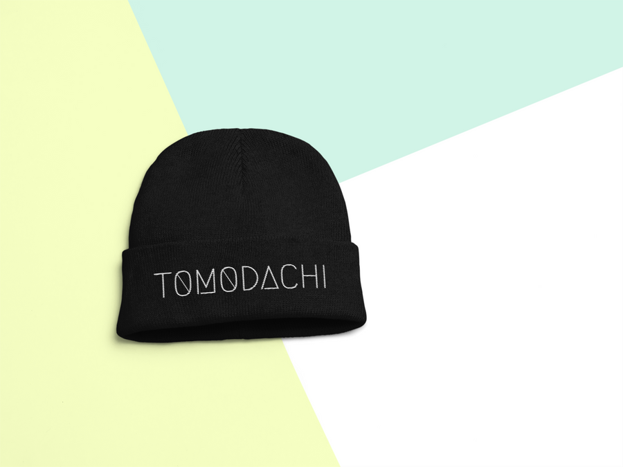 Tomodachi Black TOMODACHI Beanie Tomodachi Clothing Streetwear