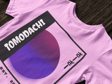 Tomodachi S / Pink Moon Tomodachi Clothing Streetwear