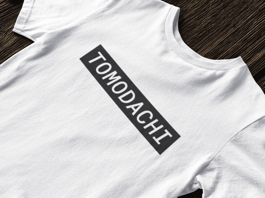 Tomodachi S / White/Black Hype Tomodachi Clothing Streetwear