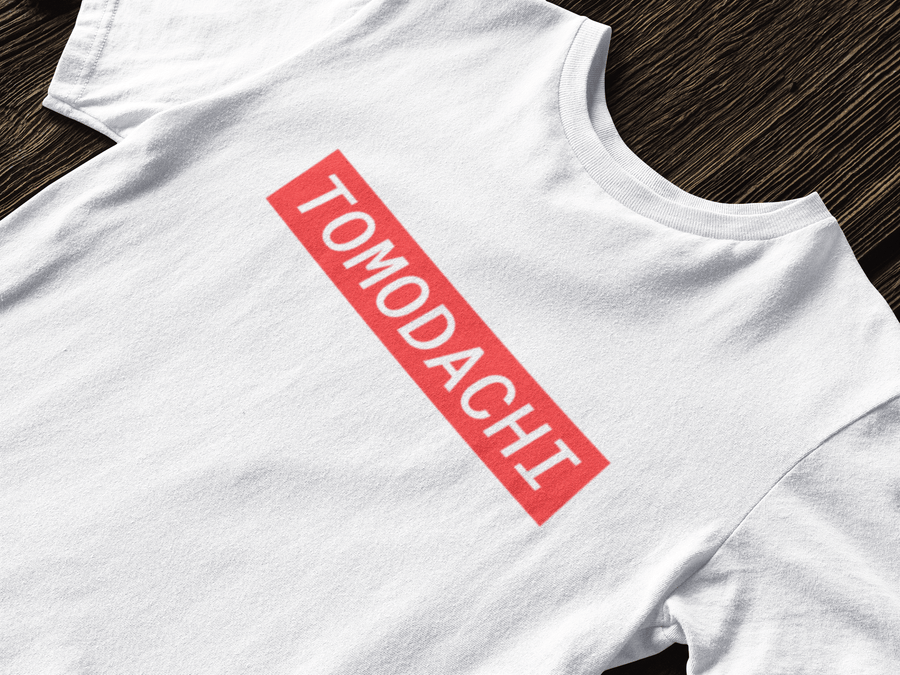 Tomodachi S / White/Red Hype Tomodachi Clothing Streetwear