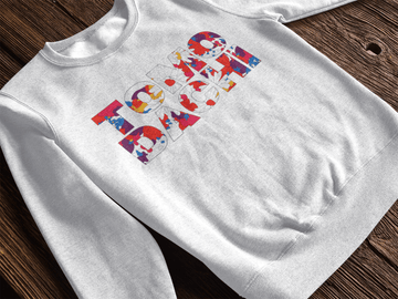 Tomodachi S / White TMDC Original Tomodachi Clothing Streetwear