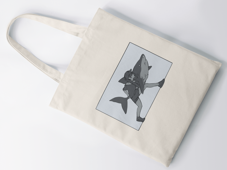 Tomodachi Shark Attack Tote Tomodachi Clothing Streetwear