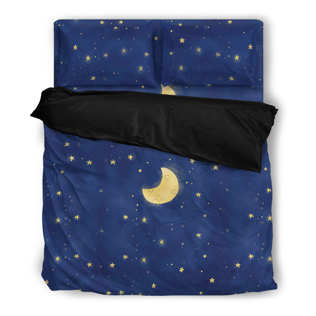 Moon and Stars Bedding Set