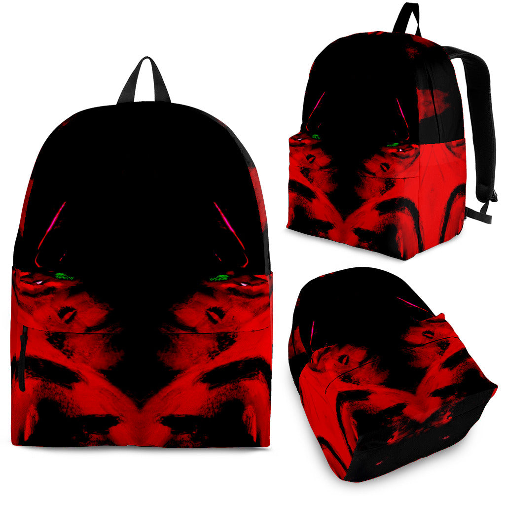 Red/black backpacks