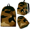 Tan Camo multi Back Pack