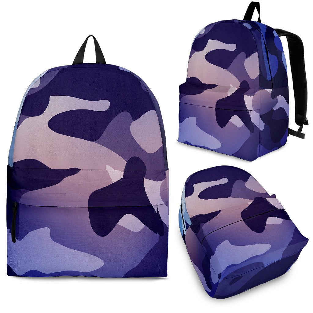 Patel Purple Camo Back Pack