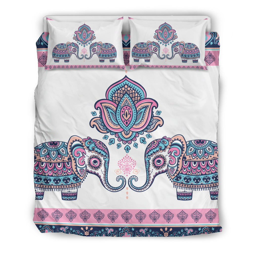 Mandala Elephant 6 Bedding Set.