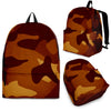 Orange Camo Back Pack