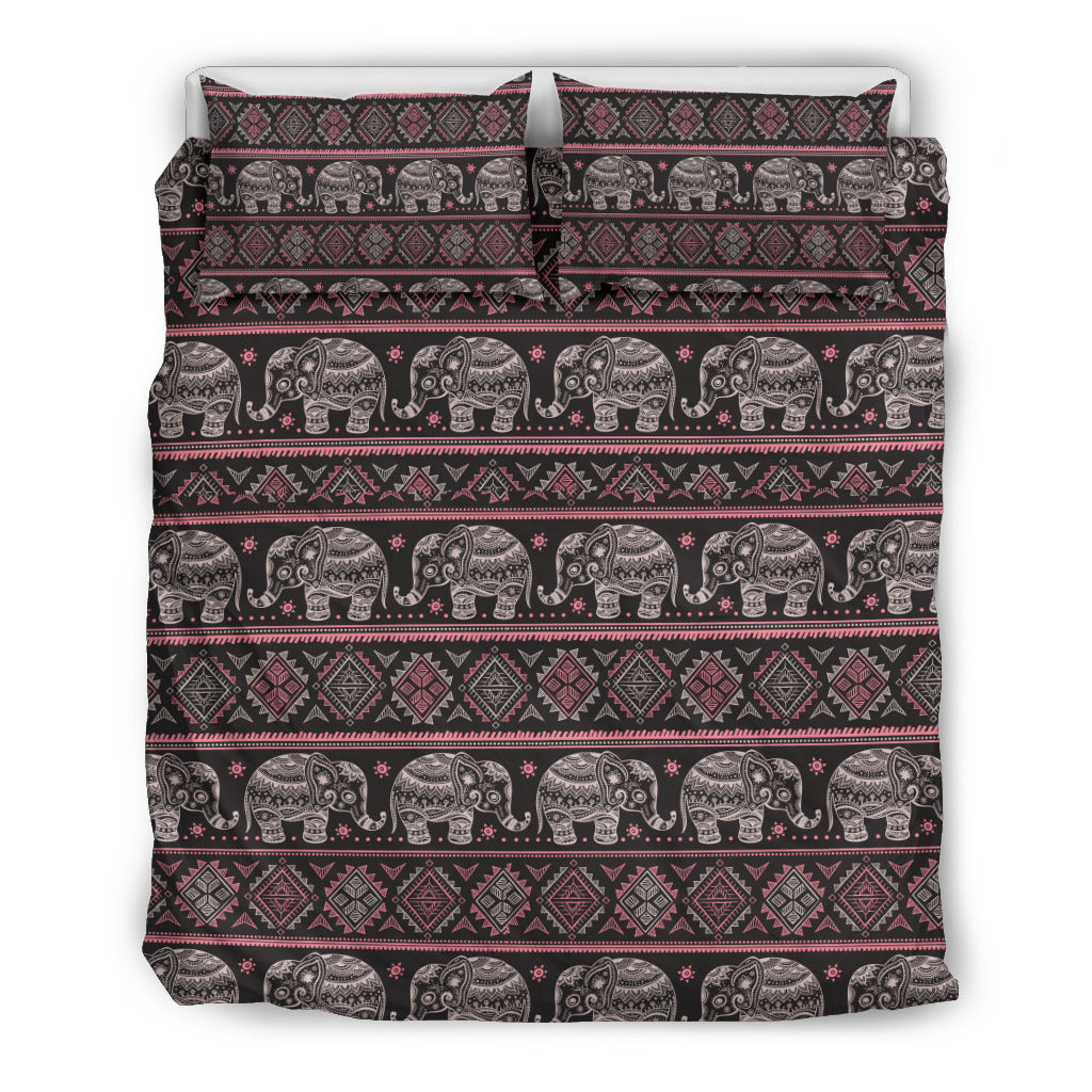Mandala Elephant 5 Bedding Set.
