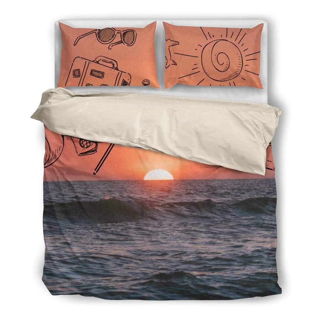 Bedding Set / Twin Summer Design Bedding Set