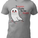 T-Shirt Sport Grey / L To cute to be scary-Unisex Heavy Cotton Tee