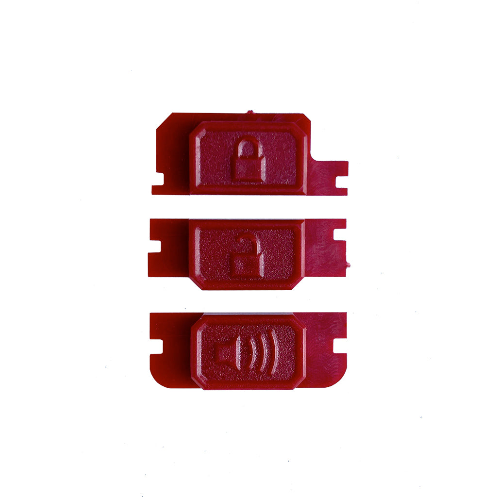 Minimalist Fob Buttons-RED