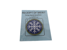 Load image into Gallery viewer, Snowflake Merit Badge