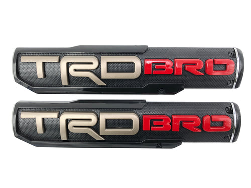 TRD BRO Badges