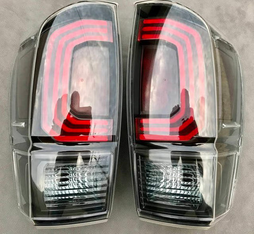 LED Tail Lights -Clear- 3rd Gen Tacoma