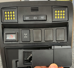 3rd Gen Tacoma Overhead switch panel