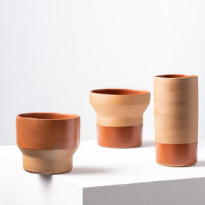 PETIT CACHE POT - MARRON
