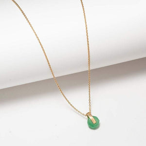 COLLIER RHEA - OR ET AVENTURINE