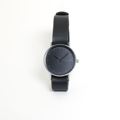 MONTRE SIMPLE EN CUIR - NOIR