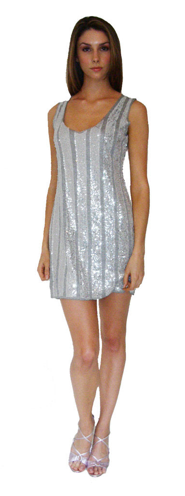 Tunic Dress with Sequins