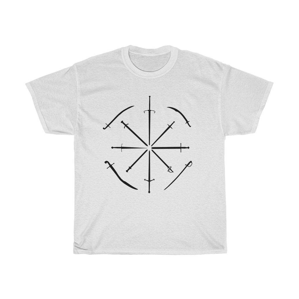 Wills Favourite Swords T Shirt ~ Light