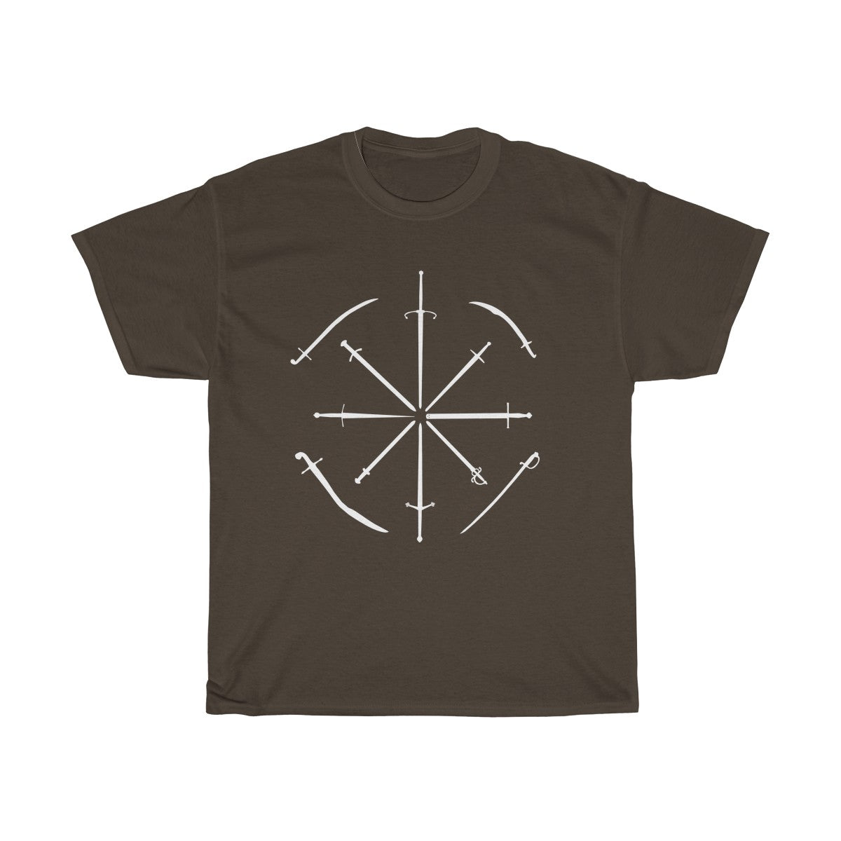 Wills Favourite Swords T Shirt ~ Dark