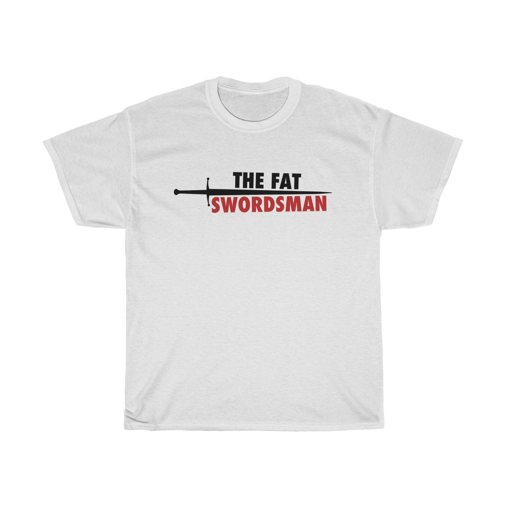 The Fat Swordsman Logo T Shirt ~ Light
