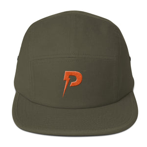 Hometown Orange Five Panel Cap