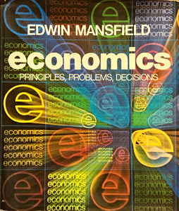 Economics Principles, Problems, Decisions