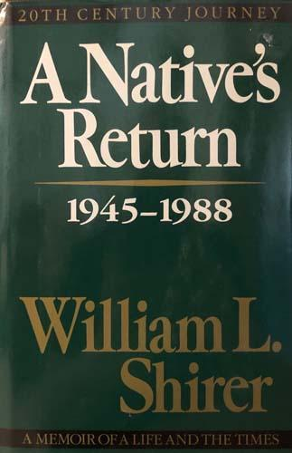 A Native's Return 1945-1988: Vol. III