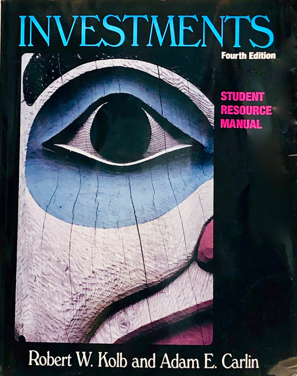 Investments: Book & Student's Manual