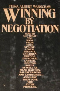 Winning By Negotiation