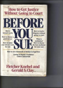 Before You Sue