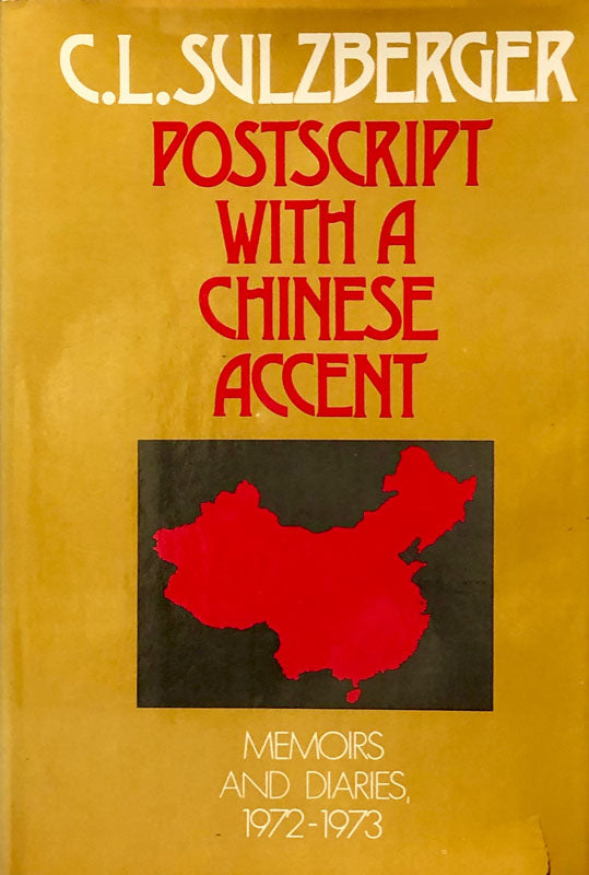 Postscript With A Chinese Accent