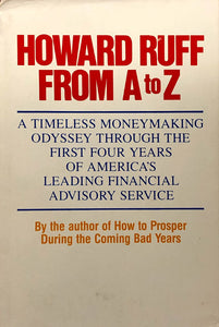 Howard Ruff From A to Z